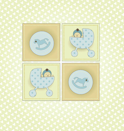 Sweet Welcome Baby Boy Card