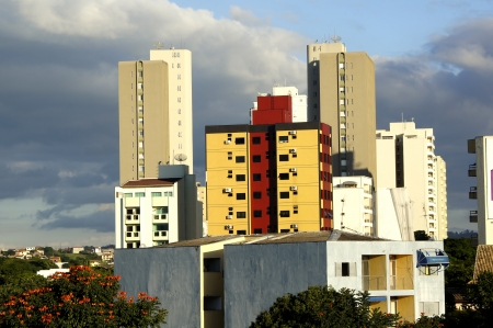 Panoramic view of apartment of Taubate city