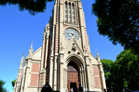 Cathedral of the city of La Plata, Argentina