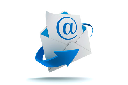 Concept of electronic mail for domestic and international business