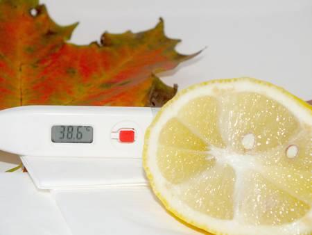 colds: lemon against colds