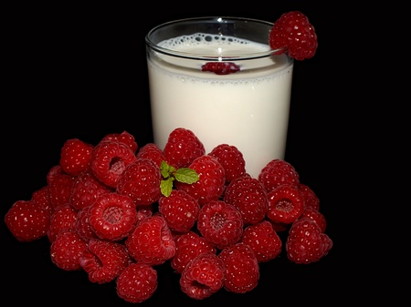 fruit milk photo