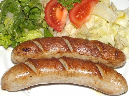 german sausages photo