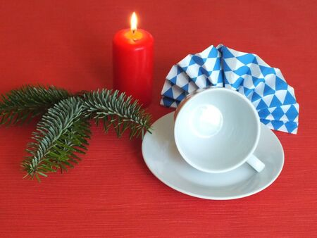 Bavarian food table christmas decorations Stock Photo - 15222717