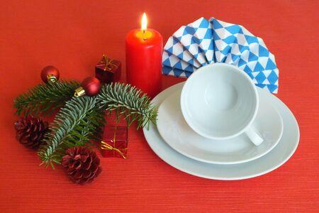 christmas scent: alem�n decoraciones de Navidad Foto de archivo
