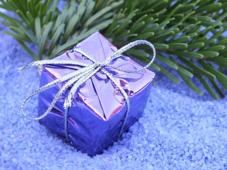 congratulations cards spice: christmas decoration in blue