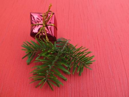 christmas scent: regalo Foto de archivo