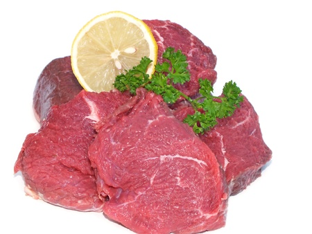 Carne fresca sin procesar photo
