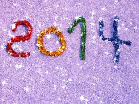 colorful than paying for congratulation new year Stock Photo - 16391865