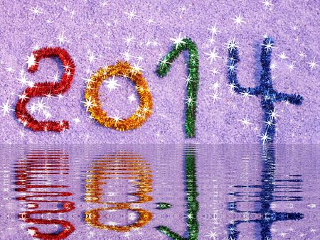 colorful than paying for congratulation new year Stock Photo - 16420332