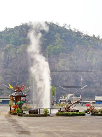 hot spring in northern thailand Reklamní fotografie