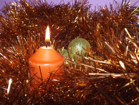 festive Christmas decoration photo