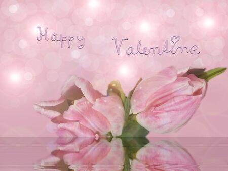 happy valentine Stock Photo - 17257120