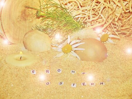 Ostern: frohe ostern Stock Photo