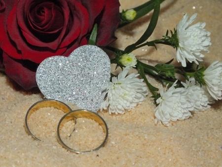 wedding rings Stock Photo - 17923121