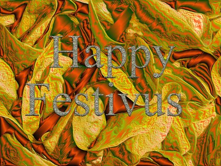 christcross: happy festivus Stock Photo