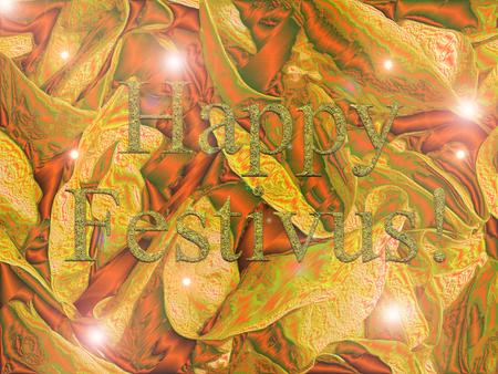 christcross: happy festivus Stock Photo