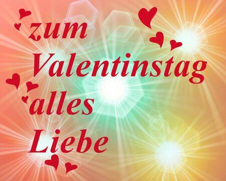 all love: in lettere tedesche, tutto l'amore per San Valentino