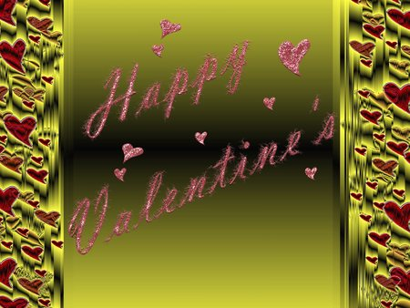 all love: in lettere, tutto l'amore per San Valentino Archivio Fotografico
