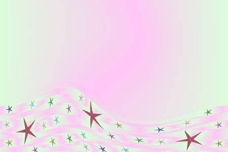 embers: colored background with small pattern and small star