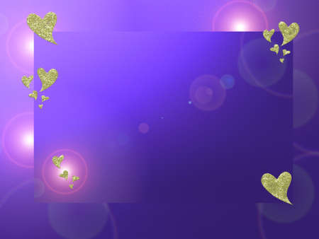 colored background with small pattern and small star