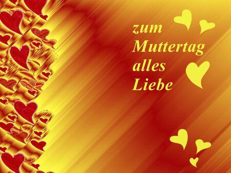 all love: in lettere tedesche, tutto l'amore per le madri giorno