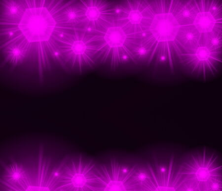 colored background with colored lights and reflex Stock Photo