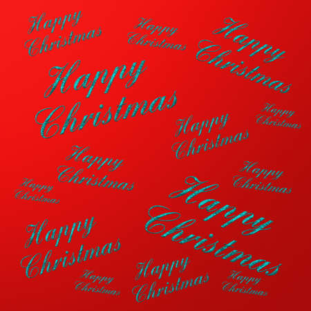 solder: happy christmas text