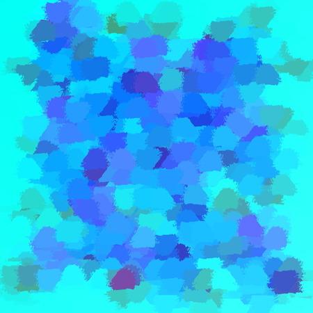 blob: many small brush blob colored modern pattern