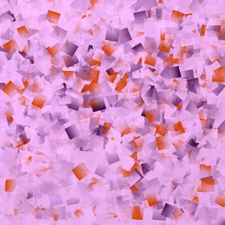 superimposed: many small squares superimposed to an abstract pattern Stock Photo