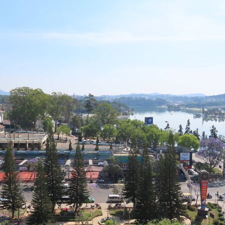 living in Dalat a city in vietnam in early march, 2020