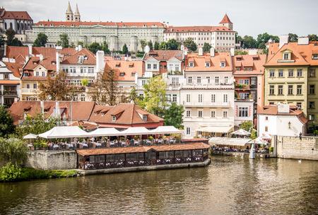carl: Landmark of Prague Hradcany, Castle and Vltava river