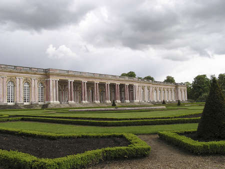 Grand Trianon of Versailles Palace, Paris. photo