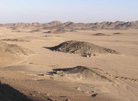 Sahara desert luminous landscape of sand dunes , Egypt, Africa Imagens - 273550