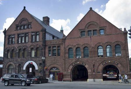 old style fire station in Boston, Mass Stock Photo - 294460