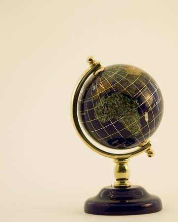 Jewel Globe highlight on Africa