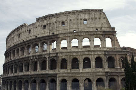 amphitheater: Colosseum or Flavian Amphitheater , the first permanent amphitheater to be built in Rome, Italy