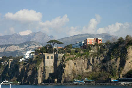 close view of Sorrento Bay, Italy Stock Photo - 449087