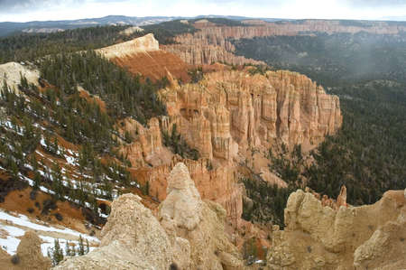 The vertiginous Bryce Canyon, Utah, USA photo