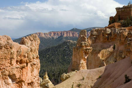Scenic view of  Bryce Canyon National Park, Utah, USA photo