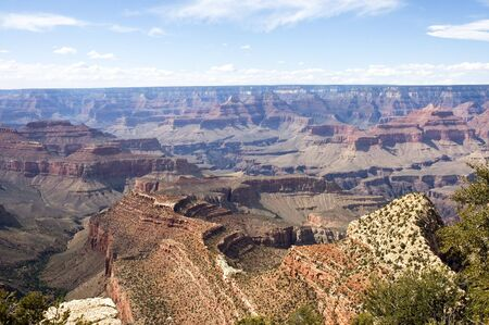 Spectacular view Grand Canyon  and Colorado River,  in Arizona, USA