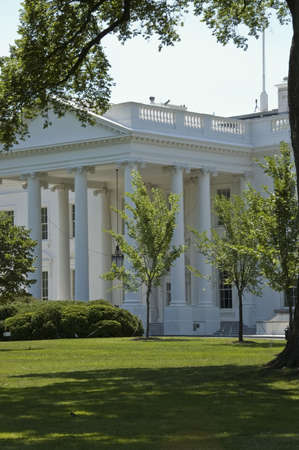 Close view of the  White House, Washington, DC Stock Photo - 2561392