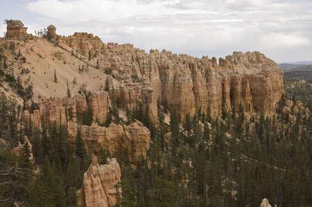 The spectacular  hoodoos of  Bryce Canyon National Park, Utah, USA photo
