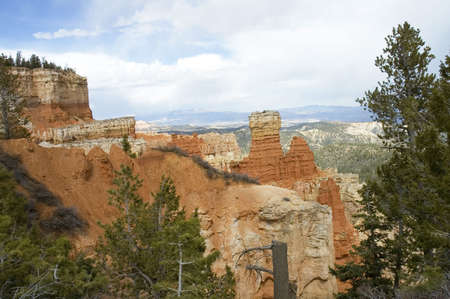 john wayne: Inspiration Point at  Bryce Canyon National Park, Utah, USA Stock Photo