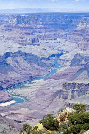 Scenic view of Grand Canyon  and Colorado River,  in Arizona, USA