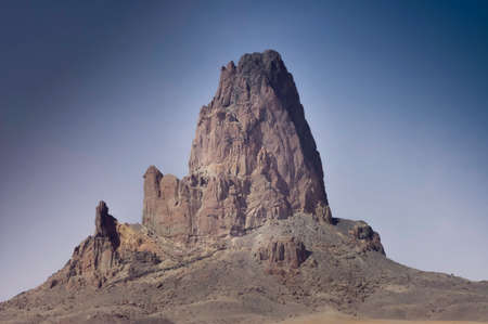 Volcanic rock formation of Monument Valley, Arizona, USA Banco de Imagens - 26047592