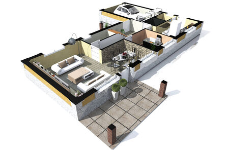 isometric environment_04 photo