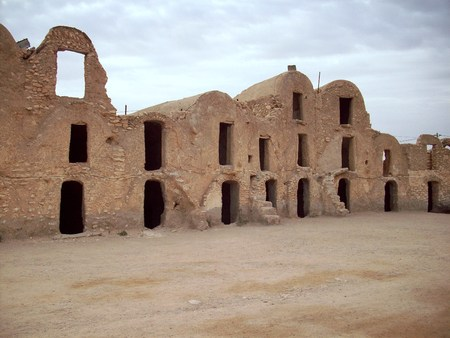 Tunisia village Archivio Fotografico