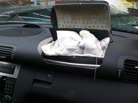 deployed: Airbag deployed.
