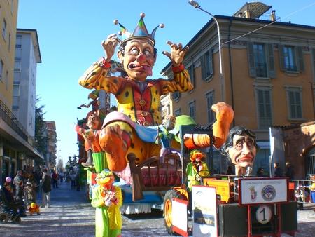 Carnival parade, Crema Italy. February 24, 2014 Editoriali